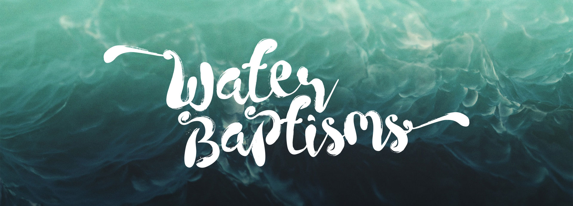 Water Baptism at Calvary Assembly in Rochester, NY